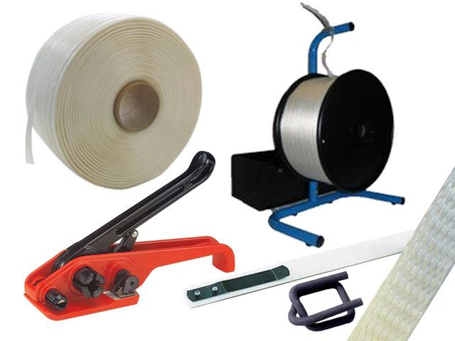 Umreifungssets für gewebtes Polyester Kraftband
