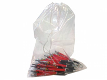 LDPE-Kordelzugbeutel, transparent – 50 µ