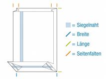 OPP-Blockbodenbeutel, hochtransparent – 40 µ