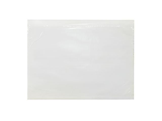 Lieferscheintaschen DIN C6 - transparent