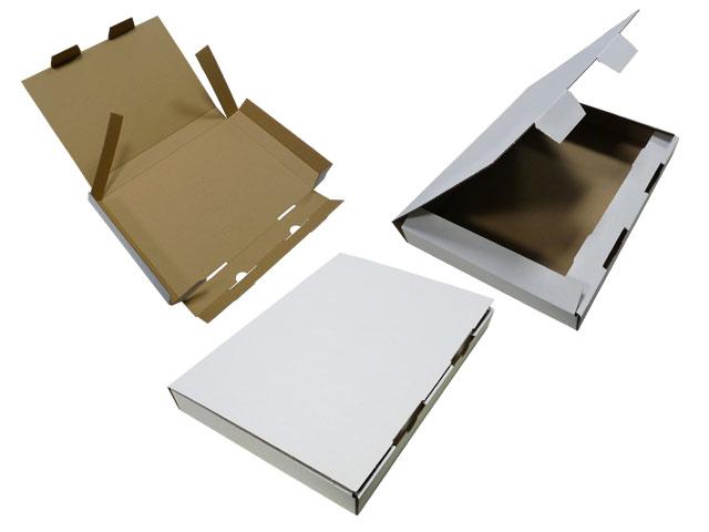 Kalenderverpackungen - weiss - aus Wellpappe