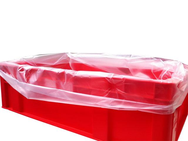 HDPE-Einlegesäcke für E3-Kisten