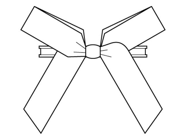 Clipbandverschlüsse mit Fertigschleifen