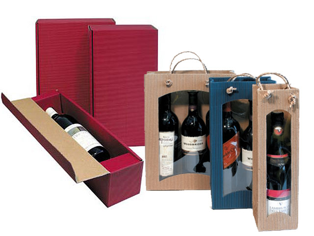 Präsentverpackungen für Weinflaschen
