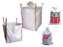 Big-Bags - Asbestsäcke - Bändchengewebesäcke