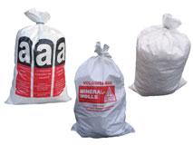 Bändchengewebesäcke - Mineralwollsäcke