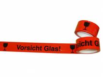 Vorsicht Glas  - Klebeband / Packband aus PP
