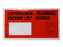 Lieferscheintaschen DIN Lang – Lieferschein / Rechnung