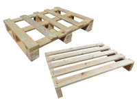 Holzeinwegpaletten 600x800 mm - IPPC behandelt