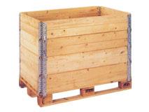 Holzaufsatzrahmen für Europaletten