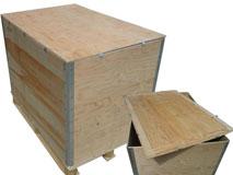 Sperrholz-Faltkisten – Modell No Lasch