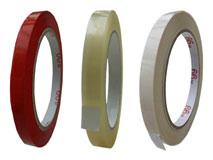 Klebeband 9 – 25 mm aus PP und PVC mit 3 Zoll Kern