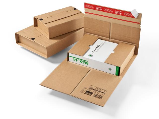 ColomPac CP 035 starke Buchverpackung - braun