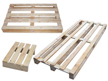 Holzeinwegpaletten - IPPC behandelt