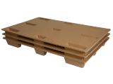 Paletten aus Wellpappe 400x600 mm CONE PAL - Viertelpaletten