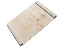 Holzaufsatzrahmendeckel