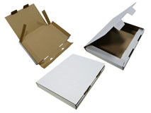 Kalenderverpackungen – weiss - aus Wellpappe