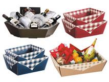 Präsent- und Picknickkörbe