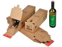 Flaschenkartons für 0,75l Weinflaschen – ColomPac CP 181