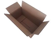 Kartons aus Wellpappe 1-wellig