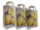 Papiertragetaschen für Kartoffeln