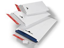 ColomPac CP 012 Versandtaschen aus Vollpappe – weiß