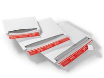 ColomPac CP 017 Versandtaschen aus Vollpappe Querbefüllung – weiß