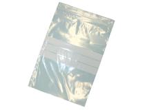 Druckverschlussbeutel 90 µ - aus LDPE - mit Stempelfeld