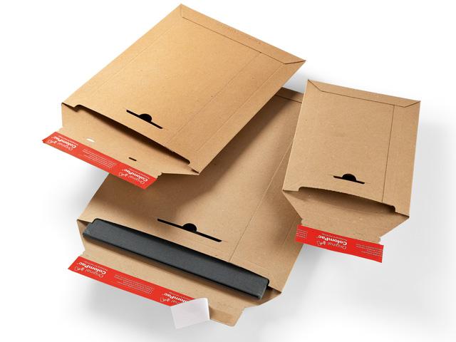 ColomPac CP 014 Versandtaschen aus Vollpappe - braun