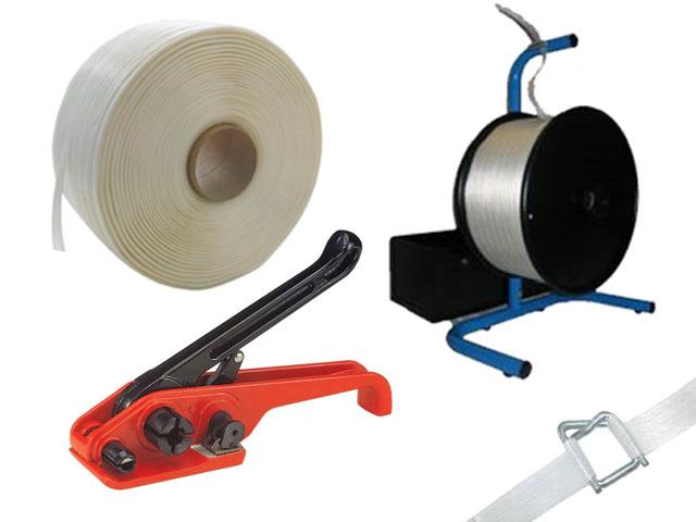 Umreifungssets für Polyester Kraftband