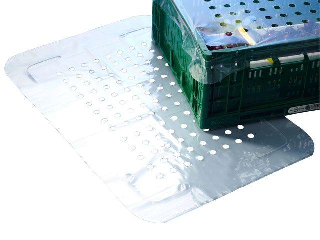 LDPE-Zuschnitte, transparent 13x8 Lochfeld - 465x670mm