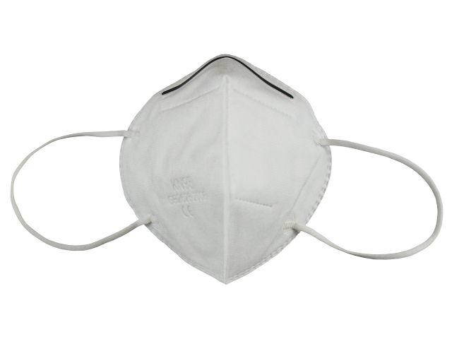 KN95 Maske ohne Ventil - weiß