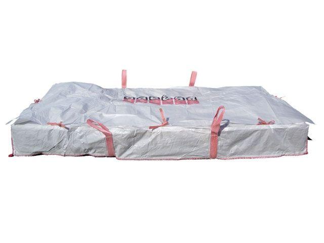 asbest platten bags wei 260x125x30 cm 1500 kg verpackungsmaterial kartons klebeband. Black Bedroom Furniture Sets. Home Design Ideas