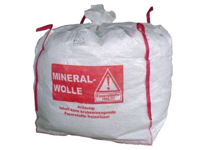 big bags f r mineralwolle wei 140x140x150 cm 250 kg verpackungsmaterial kartons. Black Bedroom Furniture Sets. Home Design Ideas