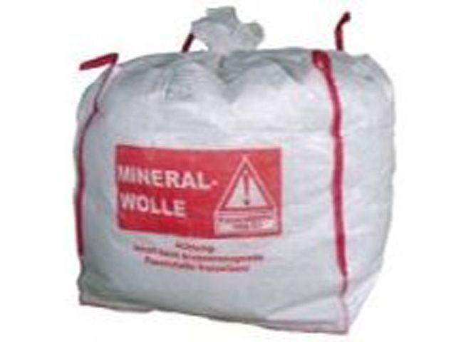 Big-Bags für Mineralwolle, weiß - 135x135x130 cm - 1000 Kg
