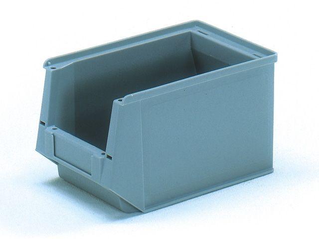 Sichtlagerkästen, grau - 230/200x147x132mm - Tragkraft 3,2 kg