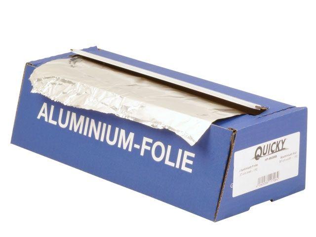 Alufolien in Cutterbox - Typ 150 - 30cm x 110m - Quicky HP-99286