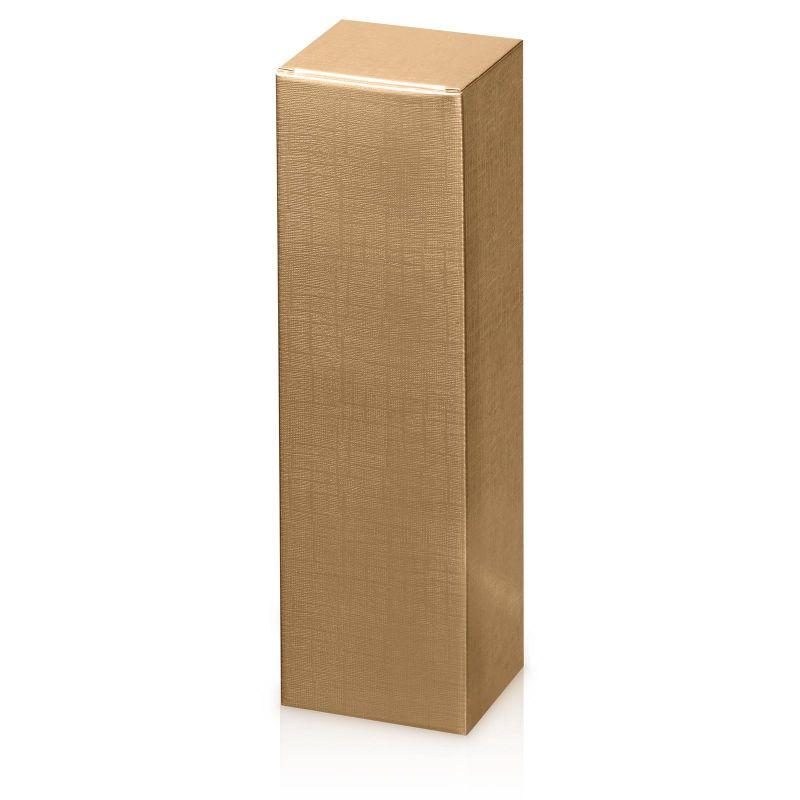 Geschenkkarton, Seta Gold - für 1 Magnumflasche - 110x110x390 mm