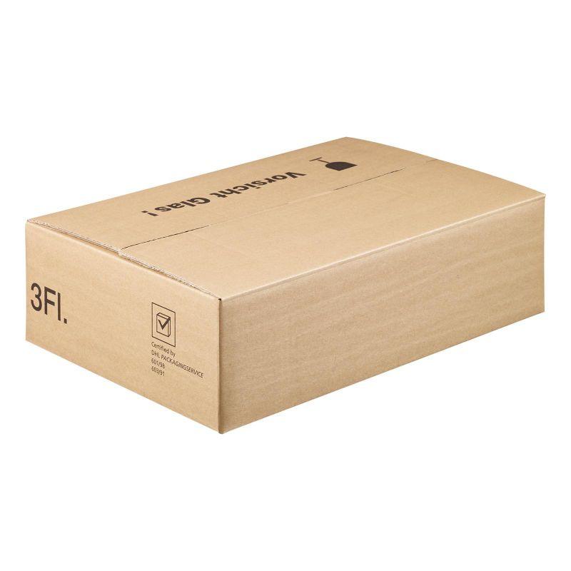 Versandkarton für 3er Geschenkverpackung, braun - 400x280x110 mm