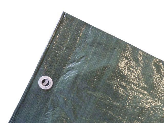 gewebeplane gr n 10x12m 250g m mit sen verpackungsmaterial kartons klebeband. Black Bedroom Furniture Sets. Home Design Ideas