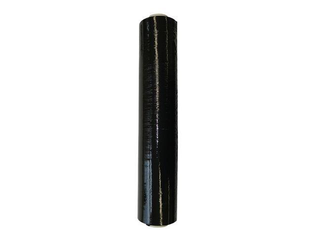 Handstretchfolie schwarz 23my, 500mmx270m - 3,15 Kg - aus PE