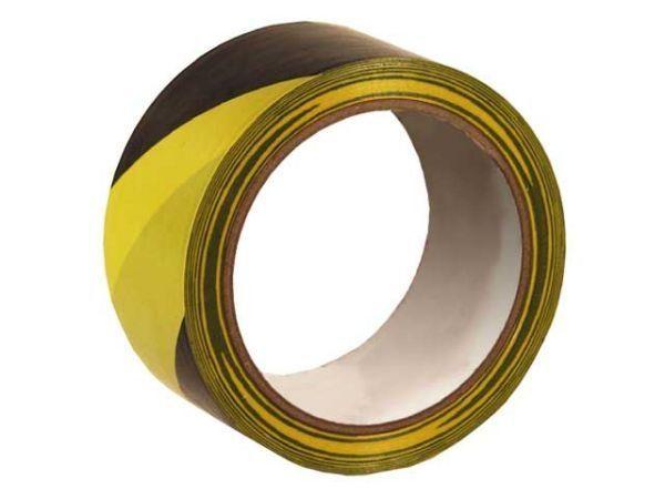 bodenmarkierungsband selbstklebend schwarz gelb 50mmx33m verpackungsmaterial kartons. Black Bedroom Furniture Sets. Home Design Ideas