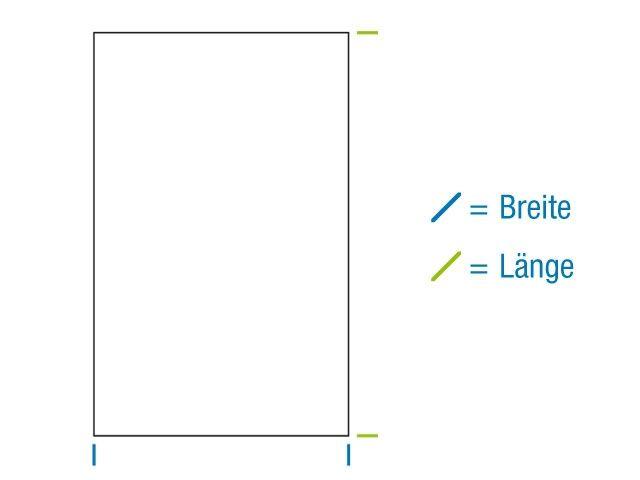 OPP-Flachbeutel, hochtransparent 60x130 mm - 30 µ - mit Siegelnaht