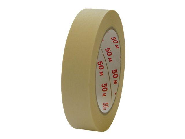 Abdeckklebeband (Krepp 262) - 25mmx50m - chamois