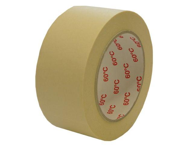 Abdeckklebeband (Krepp 225) - 38mmx50m - bis 60 °C hitzebeständig - weiß
