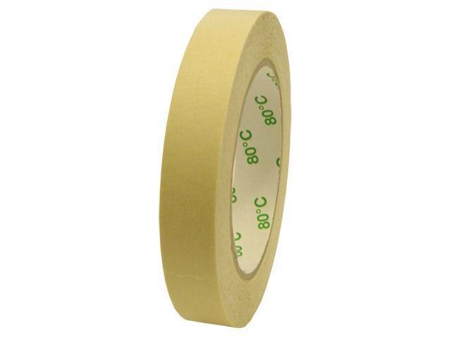 Abdeckklebeband (Krepp 227) für Autolackierer - 50mmx50m - bis 80 °C - weiß