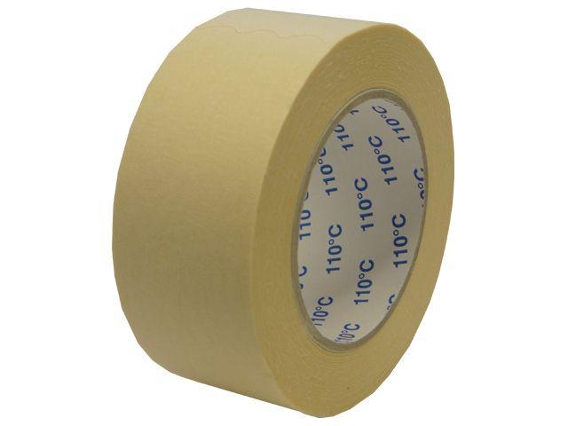 Abdeckklebeband (Krepp 201) für Autolackierer - 30mmx50m - bis 110 °C - weiß