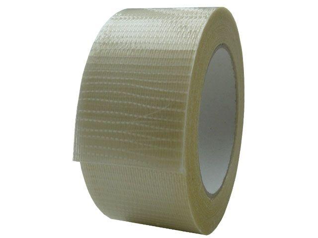 Glasfaserklebeband, transparent - 50mmx50m - verstärkt in Längs- u. Querrichtung (Filamentband 327)