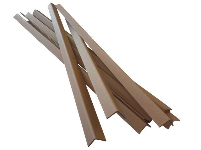 Kantenschutzleisten aus brauner Vollpappe - 1500x35x35x3 mm