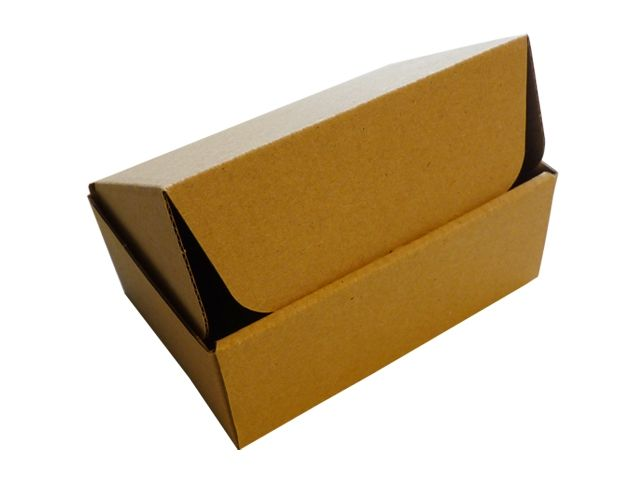 Versandboxen, braun 120x80x45 mm aus 1-welliger Wellpappe